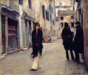 """Street in Venice"" by John Singer Sargent"