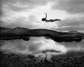 Jerry Uelsmann, Flying Girl